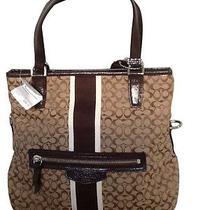Coach Khaki/mahogany Crossbody Handbag Photo