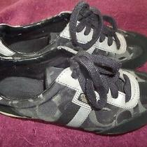 Coach Kinsley Sneaker Size 7 M Black With Gray Photo