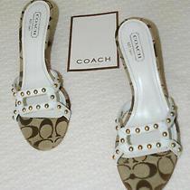 Coach Kitten Heel Logo 2