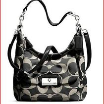 Coach Kristen Hobo Hand Bag With Cross Body Strap  Photo