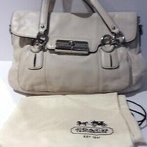 Coach Kristen Ivory Leather Handbag Photo
