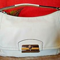 Coach Kristin M1280 Ivory Leather Purse Shoulder Bag Photo