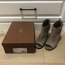Coach Labelle Rough Out Suede Boots- Size 8m Photo