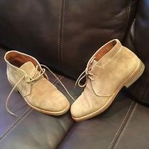 Coach Laced Ankle Boots Size 55 B Made in Italy Suede Leather. Photo
