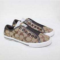 Coach Ladies Bev Signature Sneakers (Size 5b) Photo