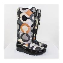 Coach Ladies Jolt Signature Winter Boots Size 7.5m Photo