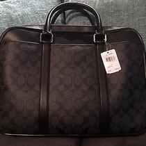 Coach Laptop Bag Photo