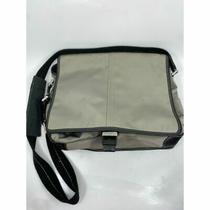 Coach Large Black Gray Nylon Messenger Bag Photo
