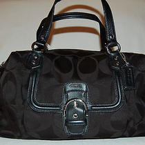Coach Large Campbell Satchel Handbag Photo