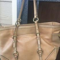 Coach Large Leather Tote Photo