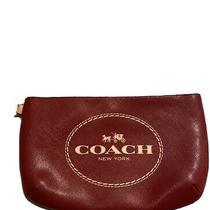 Coach Large Leather Wristlet Photo