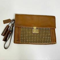 Coach Large Legacy Studded Archival Lock Clutch Photo