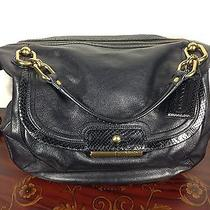 Coach Large Satchel (Black) Photo