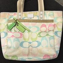 Coach Large Scribble Tote Photo