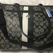 Coach Large Tote Diaper Bag Laptop Handbag Purse Photo