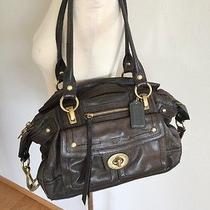 Coach Leather 12475 Satchel Shoulder Bag Photo