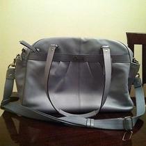 Coach Leather Addison Diaper Bag Handbag Laptop Overnight Bag Periwinkle Photo