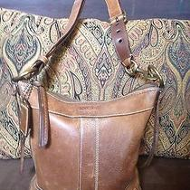Coach Leather Bag Brown Photo