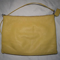 Coach Leather Bag - Yellow Photo