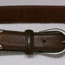 Coach Leather Belt Waist Size 38/made in Usa Photo