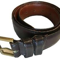 Coach Leather Belt Womens 34 Inches X 1.25 Inches Brown 6202 Buckle Authentic  Photo