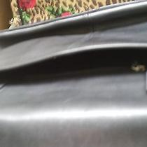 Coach Leather Briefcase Black Photo
