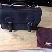 Coach Leather Briefcase / Computer Carrier Photo