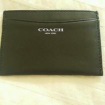 Coach Leather Card Case Photo