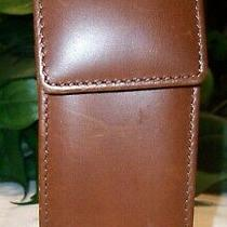 Coach Leather Cell Phone Case Vintage 1999-2000 7906 British Tan Orig. Nokia Photo