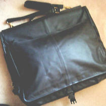 Coach Leather Garmet Bag Authentic All Leather Photo