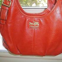 Coach Leather Hobo (Maggie) Handbag Low Price Photo