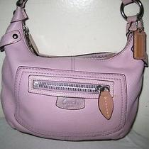 Coach Leather Hobo Purse Shoulder Bag. Photo