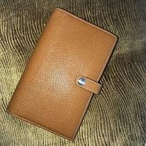 Coach Leather Journal/planner Brown Photo