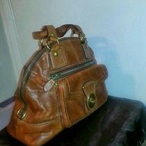 Coach Leather Luci Domed Satchel  Photo