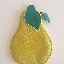 Coach Leather Pear Coin Purse Motif-Leather Multicolor 69539 / Fun Gift Photo