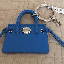 Coach Leather Peyton Hand Bag Key Fob New With Tags Photo