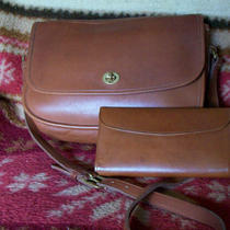 Coach Leather Purse and Matching Wallet Photo