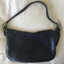 Coach Leather Purse Bag Black No. 9214 Great Condition Vintage  Usa Made Photo