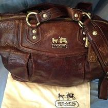Coach Leather Purse - Brown Photo