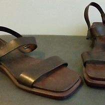 Coach Leather Sandals-Us Womens Size 10- Brand New Photo