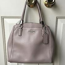 Coach Leather Satchel Photo