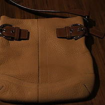 Coach Leather Satchel Brown Photo