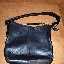 Coach Leather Satchel Purse Photo