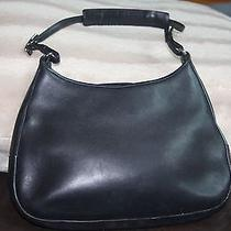 Coach Leather Shoulder Bag Photo