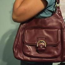 Coach  Leather Shoulder Bag Hand Bag Purse   Gently Used   Photo