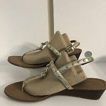 Coach Leather Thong Womens Sandals Size 9 Photo
