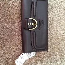 Coach Leather Wallet Photo