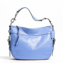 Coach Leather Zoe Style F12671 Sv/sky Photo