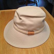 Coach Leatherware Sun Hat Womens Khaki Photo