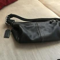 Coach Legacy Black Leather Hobo Satchel Handbag Purse F053-9564  Photo